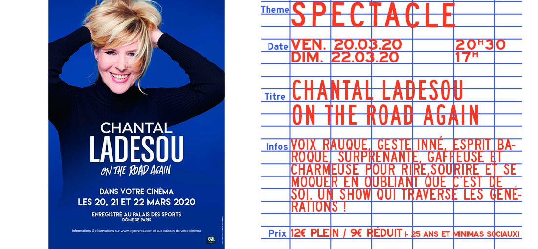 Photo du film Chantal Ladesou - On the road again