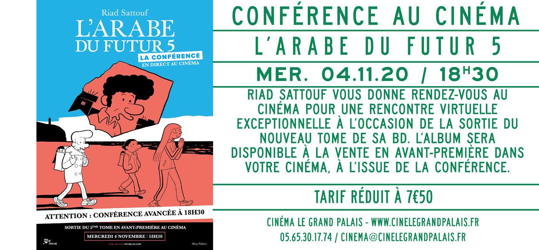 Photo du film Riad Sattouf - L'Arabe du Futur 5 : La Conférence en direct au cinéma