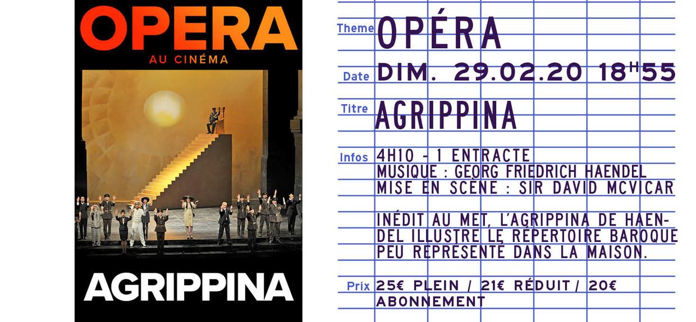 Photo du film Agrippina (Metropolitan Opera)
