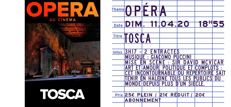 Photo du film Tosca (Metropolitan Opera)